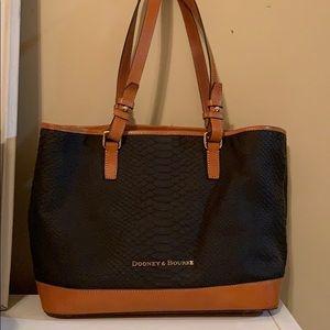 Dooney & Bourke purse shoulder handbag lizard
